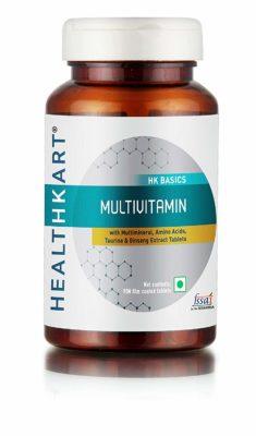 HealthKart Vegetarian Tablets Multivitamin for Women