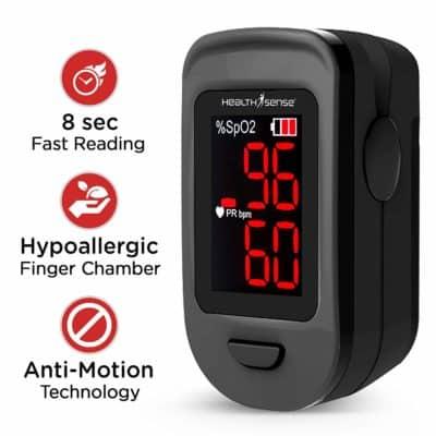 HealthSense Accu-Beat FP 900 Finger Tip Pulse Oximeter