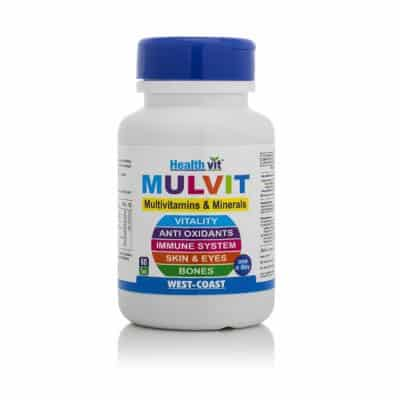 HealthVit Mulvit A to Z Minerals and Multivitamins