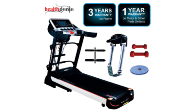 Healthgenie 5in1 Motorized Treadmill 4612A Review