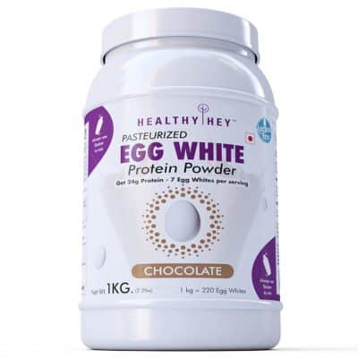 HealthyHey Nutrition Non-GMO and Lactose-Free Egg White Protein