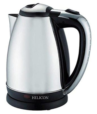 Helicon Strong Stainless Steel Body Tea and Coffee Maker Electric Kettle 2 Liters