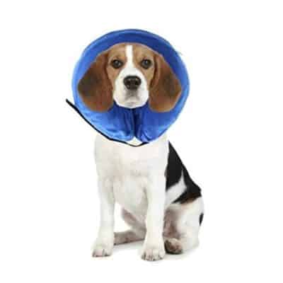 Hexiaoying Recovery Protective E-Collar Inflatable Cone For Dogs And Cats
