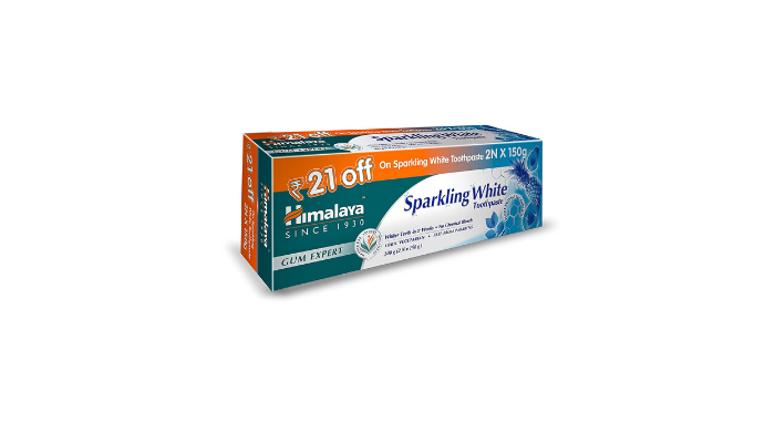 Himalaya Sparkling White Toothpaste Review