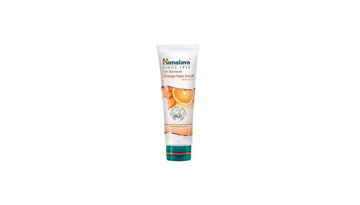 Himalaya Tan Removal Orange Face Scrub Review