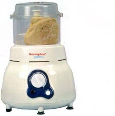 Homeplus Plastic Vertical Dough Maker (White, Homeplus-atta-kneader)