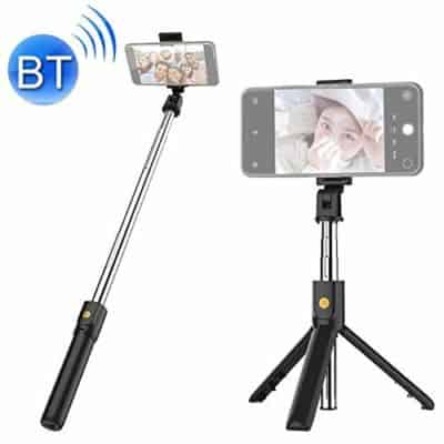 Hoteon Mobilife Bluetooth Extendable Selfie Stick with Wireless Remote and Tripod Stand Selfie Stick