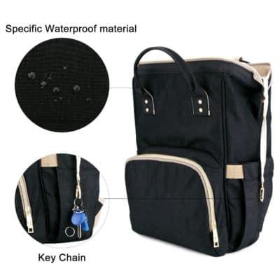 House of Quirk Waterproof Baby Diaper Bag