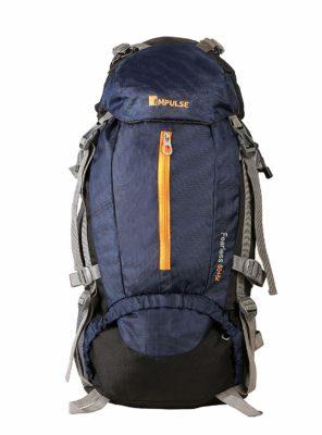 Impulse 65 Liters Blue Trekking Backpack