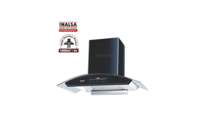 Inalsa 90 cm 1300 m³h Kitchen Chimney Crescent 90BKSFAC Review