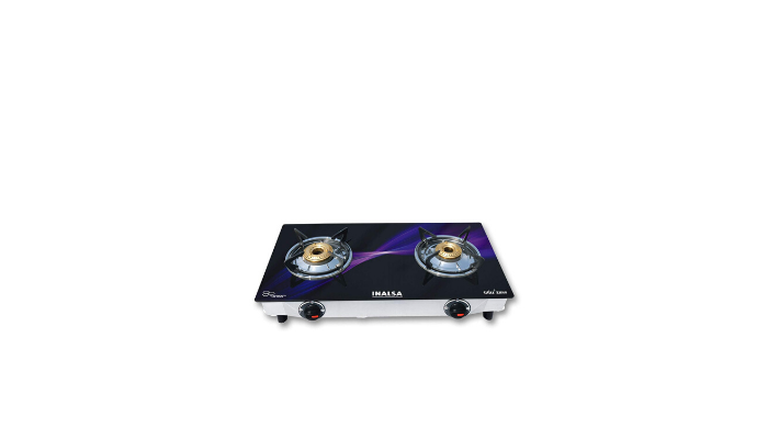 Inalsa Glitz Two Burner Glass Top Gas Stove Review