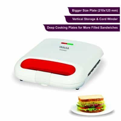 Inalsa Phoenix 750 Watt Sandwich Maker