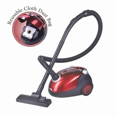Inalsa Spruce 1200W Vacuum Cleaner for best for Home with Blower Function and Reusable dust Bag