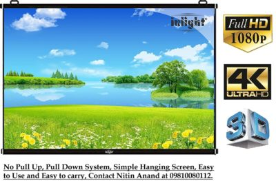 Inlight Universal Map Projector Screen M8X6