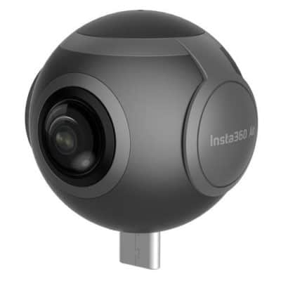 Insta360 Air 360 Degree Dual 3K lens VR Video Camera Real Time Seamless Stitching for Android Phone (Micro USB Connector)