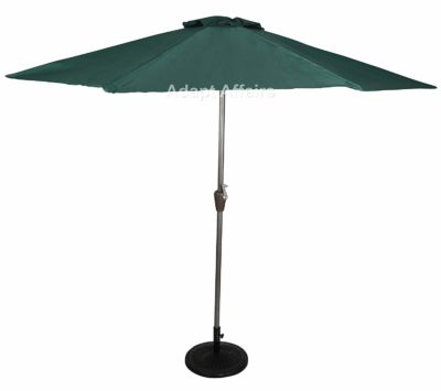 Invezo Impression Luxury Metal Center Pole Patio Umbrella