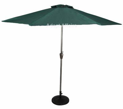Invezo Impression Luxury Metal Center Pole Patio Umbrella