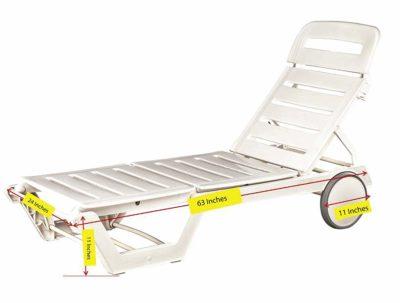 Italica Furniture 8103 Sun Lounger