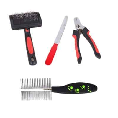 Jainsons Pet Products High-Quality Imported Durable Pet Grooming Kit for Dogs and Cats, Suitable for Long or Short Hair