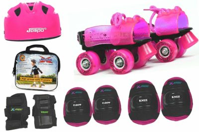 Jaspo Pink Heaven Pro junior Skates (5 years)