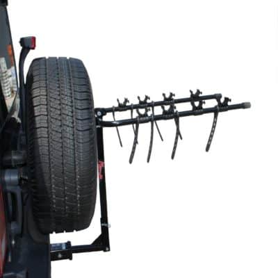 Kage Racing BK4 Four-Bike Rack Carrier for 1-1/4