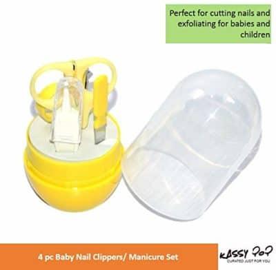 Kassy Pop Baby Manicure Set Baby Grooming Kit