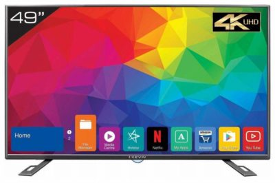Kevin 124.5 cm (49 Inches) 4K UHD LED Smart TV KN49UHD