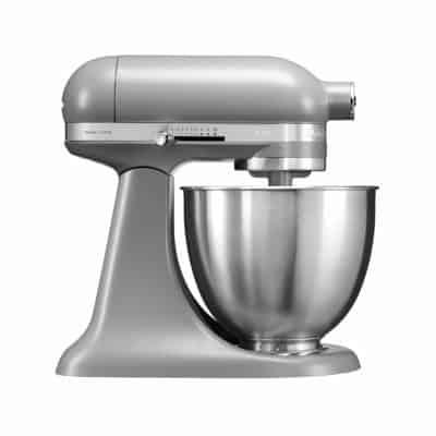 KitchenAid Artisan Series 5KSM3311XBFG 250-Watt 3.3-Litre Mini Stand Mixer (Matte Grey