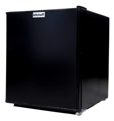 Kitchoff Rectangular Direct Cool Aluminium and Solid Standard Single Door Refrigerator(50 L Black)