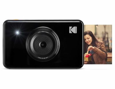 Kodak Mini Shot Instant Print Digital Camera LCD Display, Full-Color Prints (Black)
