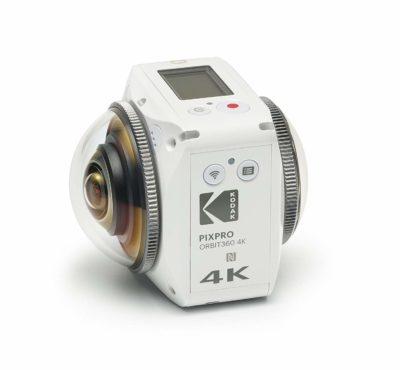 KODAK PIXPRO ORBIT360 4K 360° VR Camera Satellite Pack