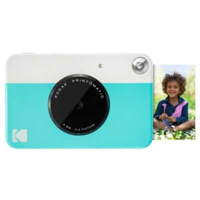 Kodak Printomatic Instant Camera (Blue) Gift Bundle