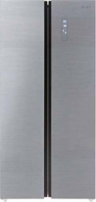 Koryo 509 L Star Frost Free Side-by-Side Refrigerator (KSBS549INV, Silver)
