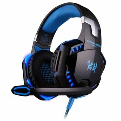 Kotion Each Over the Ear Headsets with Mic & LED – G2000 Edition