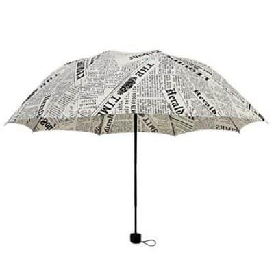 Kraptick Travel Newspaper Umbrella