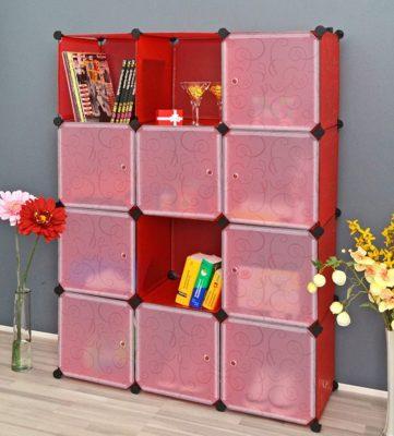 Kurtzy Wardrobe Cupboard Closet Cabinet