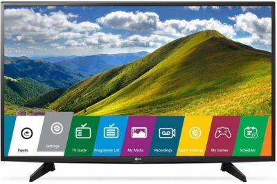 LG 108 cm (43 Inches) Full HD LED TV 43LJ523T (Black) (2017 Model)