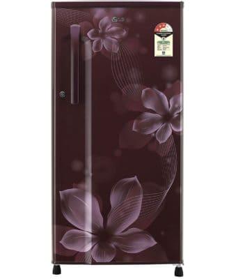 3.LG 188 L 3 Star Direct Cool Single Door Refrigerator (GL-B191KSOW.ASOZEBN) -