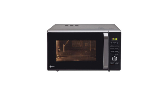 LG 28 L Charcoal Convection Microwave Oven MJ2886BFUM Review