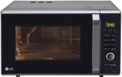 LG 28 L MJ2886BFUM Convection Microwave Oven Black