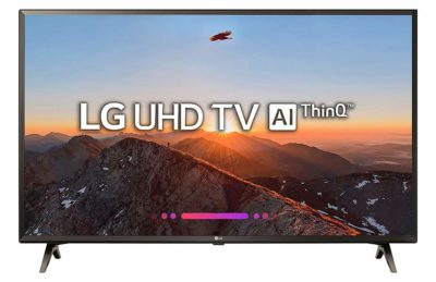 LG 124.5 cm (49 Inches) 4K UHD LED Smart TV 49UK6360PTE