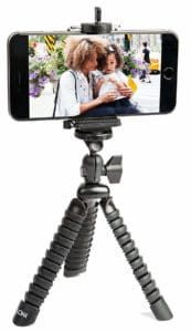 LOHA Premium Flexible Tripod with Mount for iPhone and Android