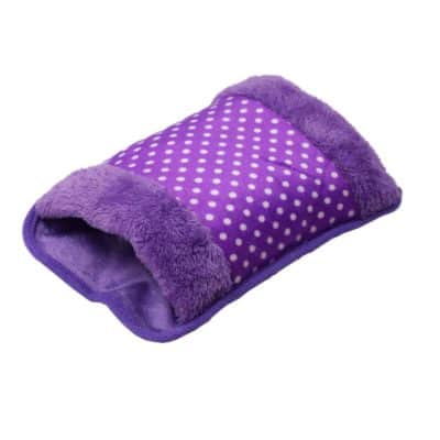 Ledzz Electric Hot Water Bag Heating Gel Pad with Hand Pocket