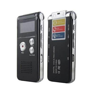 Leoie Voice Record Mini 8GB Digital Sound Audio Recorder