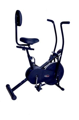 Lifeline Exercise Air Bike With Back Seat