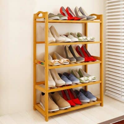 Livzing Wooden Shoe Rack
