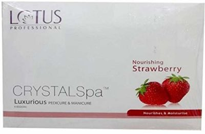 Lotus Herbals Professional Manicure and Pedicure Strawberry SPA Kit