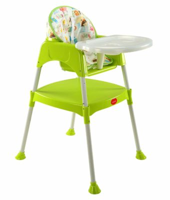 LuvLap 3 in 1 Convertible Baby High Chair