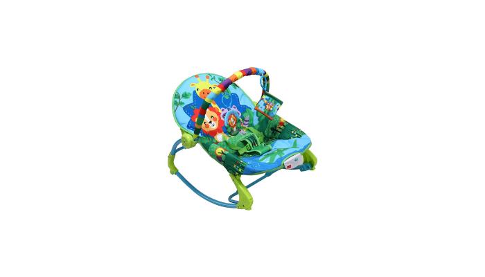 LuvLap Jungle Tales Portable Bouncer Review