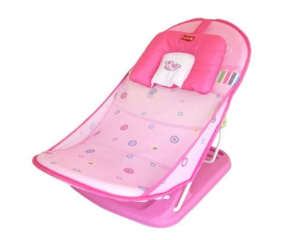 Luvlap Pink Ocean Compact Baby Bather